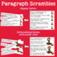 Valentine's Day Sentence & Paragraph Scrambles