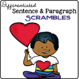 Valentine's Day Sentence & Paragraph Scrambles