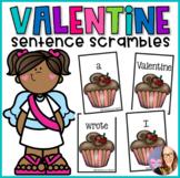Valentine's Day Sentence Scramble