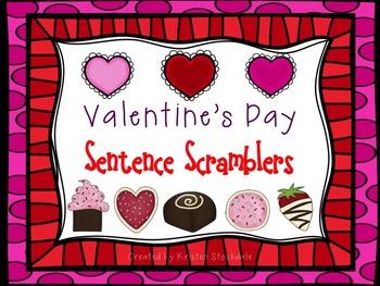 Valentine's Day Sentence Scramblers