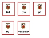 Valentine's Day Sentence Sequencing