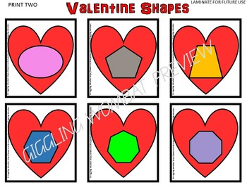 Valentines Day Shapes