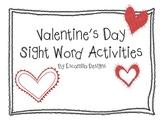 Valentine's Day Sight Word Activities