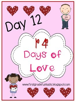 Valentine's Day Sight Word Bingo:  Day 12 of 14 Days of Love