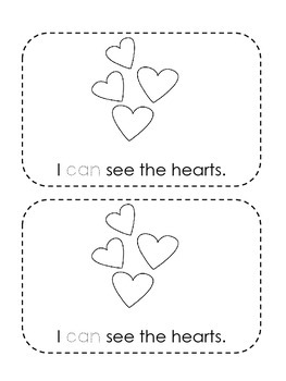 Valentine's Day Sight Word Book Freebie! {A mini book for K-1st}