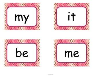 Valentine's Day Sight Word Game