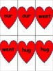 Valentine's Day Sight Word Go Fish Game