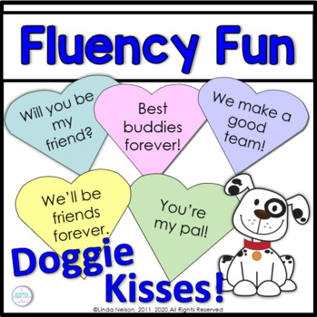 Valentines Day Literacy Fluency Game