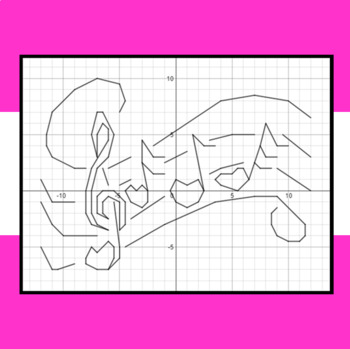 Valentine's Day - Silly Love Song - A Coordinate Graphing Activity
