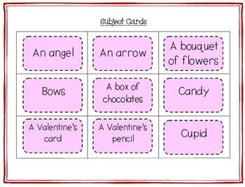Word Work Valentine's Day Silly Sentences for Fluent Readers