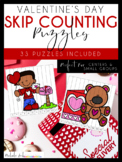 Valentine's Day Skip Counting Puzzles by Nichole L.