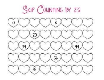 valentine 39 s day skip counti by luv2teachkids teachers pay teachers. Black Bedroom Furniture Sets. Home Design Ideas