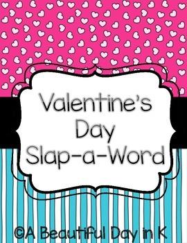 Valentine's Day Slap-A-Sight-Word