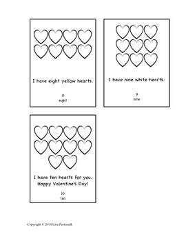 Valentine's Day Small Book in English and Spanish!