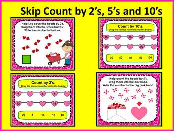 SMARTboard Valentine's Day Counting & Addition