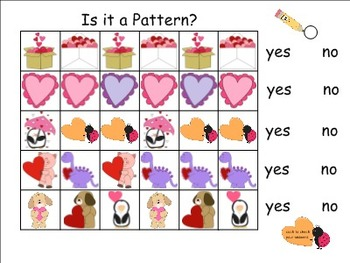 Valentine's Day Smartboard Activity