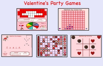 Valentineu0027s Day Smartboard Party Games Lesson   Lessons
