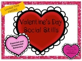 Valentine's Day Social Skills LIMITED TIME FREEBIE