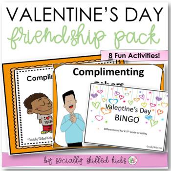 VALENTINE'S DAY Social Skills Friendship Pack