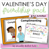 VALENTINE'S DAY Social Skills Friendship Activity Pack