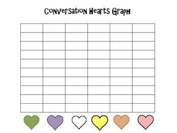 Valentine's Day Sort and Graph