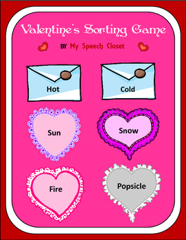 Valentine's Day Sorting Activity