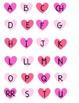 Valentine's Day Spanish Alphabet Sorting Mats