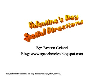 Valentines Day Spatial Directions