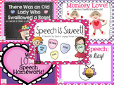 Valentine's Day Speech & Language Bundle!