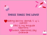 Valentine's Day Speech and Language Bundle