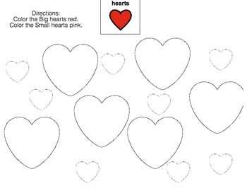 Valentine's Day Speech/Languge Therapy (Language disorders/autism)