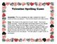 Valentine's Day Spelling Game