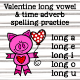 Valentine's Day Long Vowel Spelling