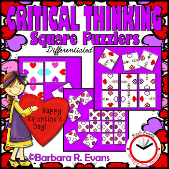 CRITICAL THINKING PUZZLES Valentine's Day Brain Teasers Differentiation GATE
