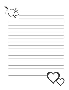 Valentines Day Stationary - FREEBIE