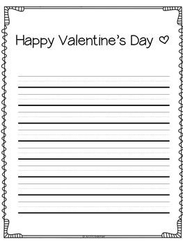 Writing Center {Valentine's Day}