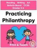 Philanthropy, Reading, And Art