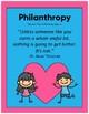 Valentine's Day and Philanthropy