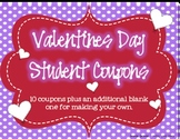 Valentines Day Student Coupons