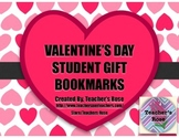 Valentine's Day Student Gift Bookmarks