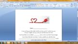 Valentine's Day Student Love Letter