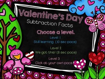 Valentine's Day Subtraction