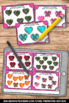 Kindergarten Valentines Day Math Activities & Games Subtraction Task Cards