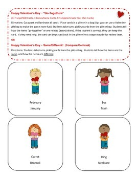 Valentine's Day Super Language Packet!