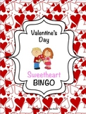 Valentine's Day Sweetheart BINGO
