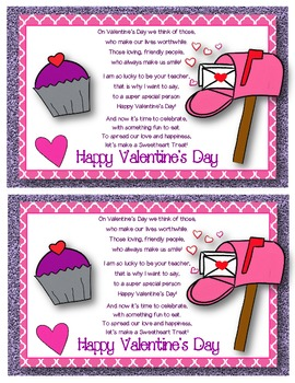 Valentine's Day Sweetheart Snack Mix {Fun Poem} and {Bag Toppers}