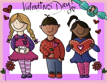 Valentines Day Sweethearts Clip Art
