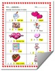 Valentine's Day-Themed Syllables Count Worksheet