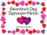 Valentines Day Synonym Match