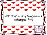 Valentine's Day Synonyms and Antonyms